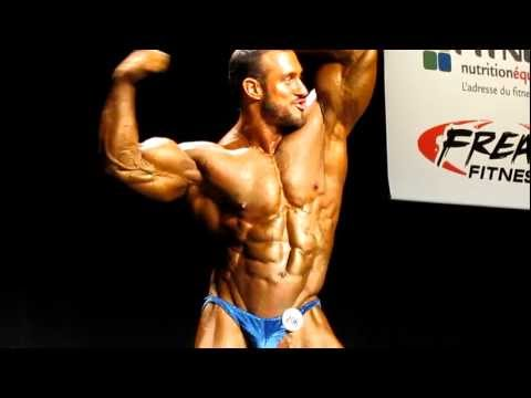2011 Canadian Nationals Posing Routine Antoine Vaillant