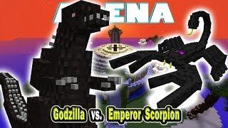 Minecraft Arena Battle Godzilla vs. Emperor Scorpion