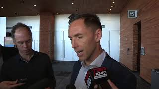 NBA star Steve Nash talks about Tuesday's Canucks tribute