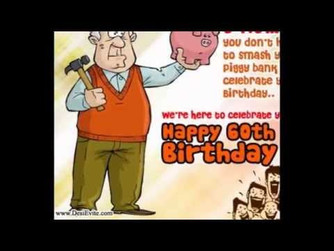 Send Free Online Invitations And Announcements Happy 60th Birthday Cards For Mom Dad Grandfather Grandmother