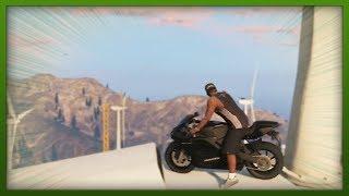 GTA 5 Stunts INSANE Bike & Plane Stunts! Top 5 Stunts