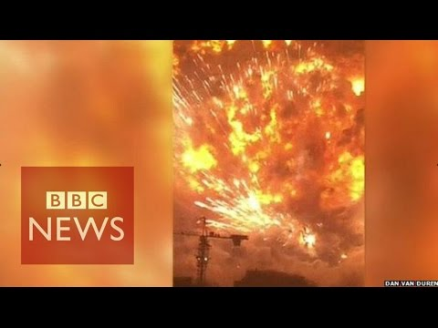 Tianjin explosion video captures fear of eyewitnesses