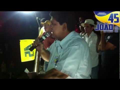 Movimento do 45 (02/10/2012) João do Caixão Prefeito - Buritis MG
