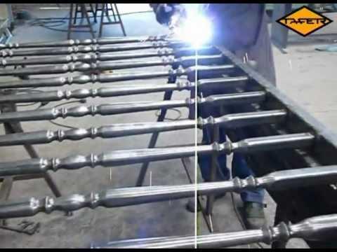 Videotutorial como hacer una baranda de hierro con tubos - Baranda de forja ...