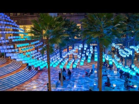 Rockwell Group Luminaries Installation