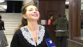 «Анна Каренина» запела. Фрагмент программы «Доброе утро», Первый канал