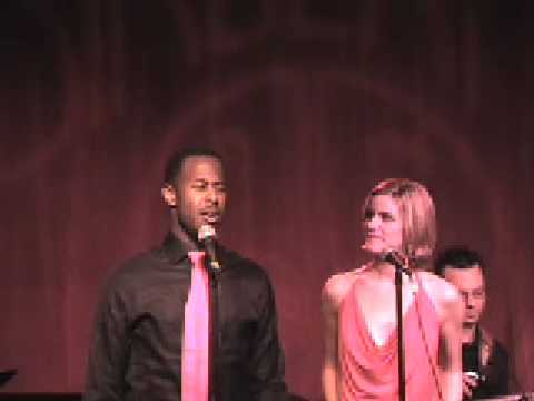 Blessing sung by Jenn Colella and Marcus Paul James - Live at Birdland 1/12/09