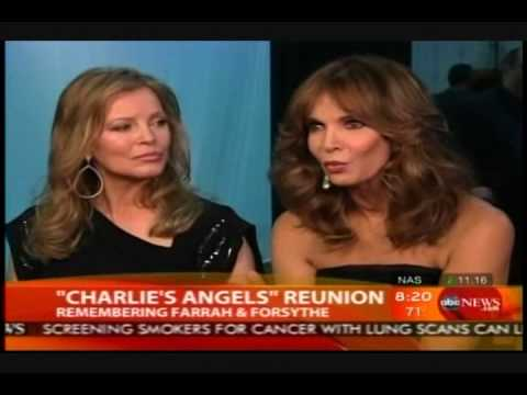 Cheryl Ladd & Jaclyn Smith Reunion | Good Morning America | 2010