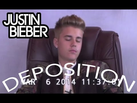 Justin Bieber - FULL Deposition Video - 31 min - HD