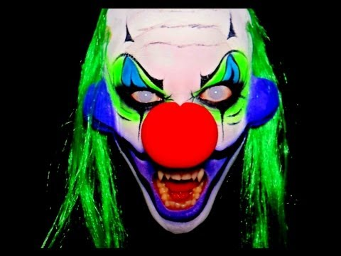 eRaness - Scary Clown Makeup Tutorial