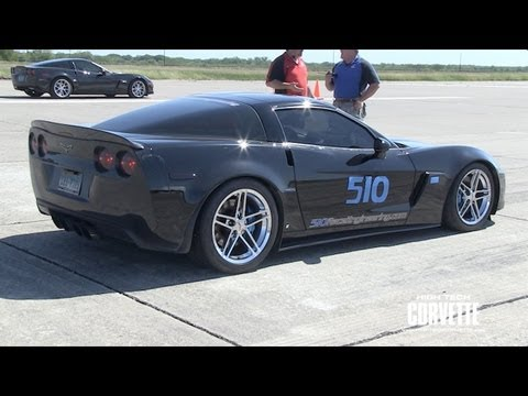 600rwhp Z06 - 510 Race Engineering - Texas Mile