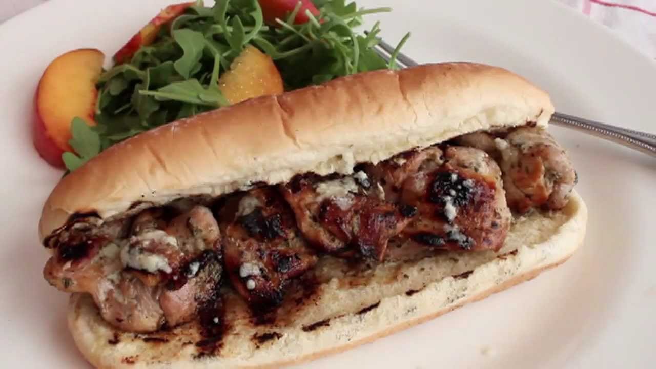 Chicken Spiedie Recipe - How to Make Chicken Spiedies - Grilled Herb ...