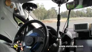 Renault Fluence ZE ESC testi - Euro NCAP 2011