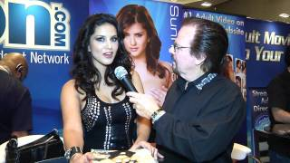 Sunny Leone Interview At AVN 2012