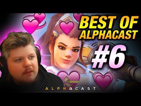 BRIGITTE NEW WAIFU ► Best of AlphaCast #6 - Overwatch