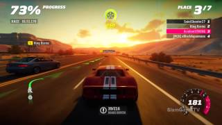 Forza Horizon Multiplayer Online Gameplay Beginner Mode