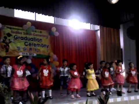 TADIKA SUKUN CERMERLANG OF THE YEAR 17.11.2013 , 5 YEARS OLD DANCE