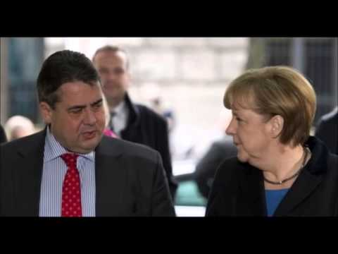 Angela Merkel Agrees With Social Democrats For Coalition