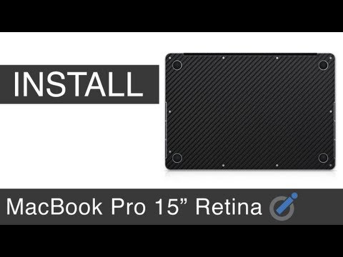 iCarbons MacBook Pro Retina Bottom Install