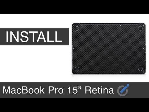 iCarbons MacBook Pro Retina Bottom Install