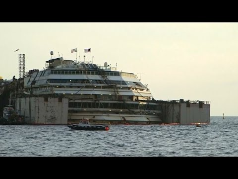 Historic Procedure to Refloat Costa Concordia Begins
