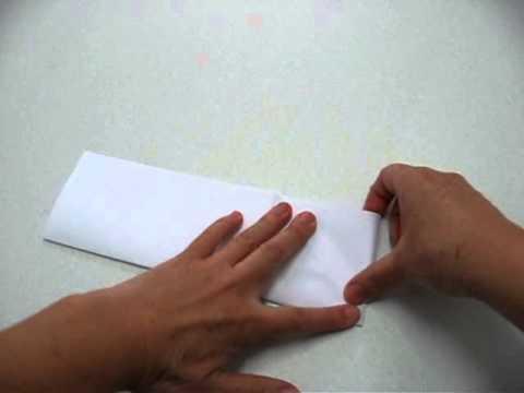 Origami - Cartão com grou (tsuru) - 3