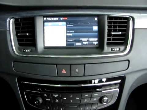 Peugeot 508 Multimedia System Flv Youtube