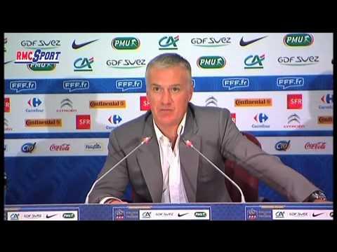 Football / Amical : Les Bleus avec Digne et Griezmann, sans Abidal ni Nasri - 27/02