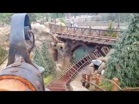 Seven Dwarfs Mine Train Roller Coaster REAL POV Full Ride Walt Disney World Magic Kingdom
