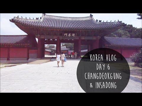 [Korea Vlog] Day Six Changdeokgung & Insadong ♡ 창덕궁 & 인사동