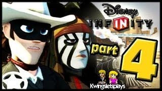 Disney Infinity Wii U Walkthrough Lone Ranger Part 4