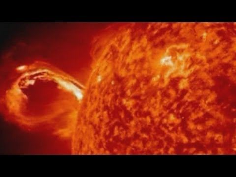 Massive solar eruption from the Sun captured in NASA time-lapse video