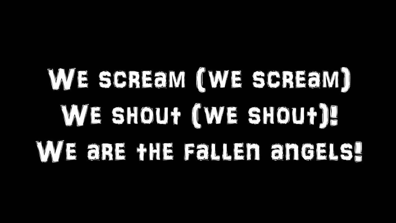 Fallen Angels - Black Veil Brides [lyrics] - YouTube