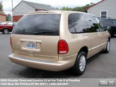 2000 chrysler town and country lx 4988 at car trek ii of puyallup in puyallup wa youtube. Black Bedroom Furniture Sets. Home Design Ideas