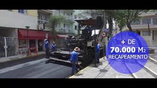 OBRAS - Recape de ruas centrais - Serra Negra/SP