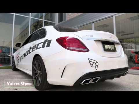 IPE Innotech Exhaust Mercedes-Benz C63s AMG W205
