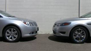 2010 Buick LaCrosse vs. Ford Taurus review videos