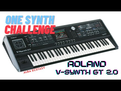 Roland V-Synth GT - demo | AE