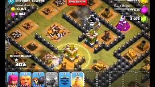 Clash Of Clans Level 50 Sherbet Towers