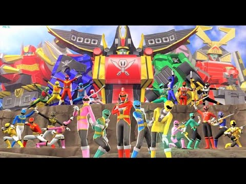 Sieu Nhan Game Play | Siêu nhân hải tặc đỏ | Game Super Sentai Battle Ranger Cross #1