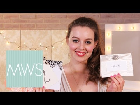 Wedding Table Numbers: Wedding Hauls S01E7/8
