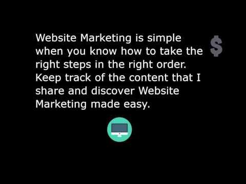 Website Marketing Tips