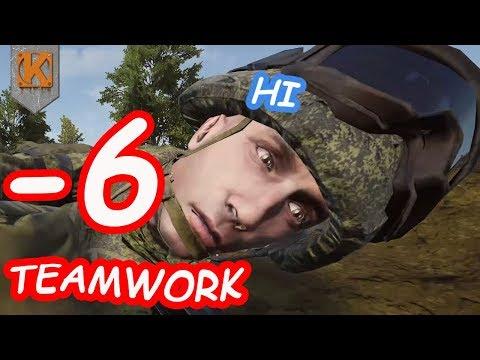 0 SKILL -6 TEAMWORK - SQUAD FUNNY MOMENTS & FAILS