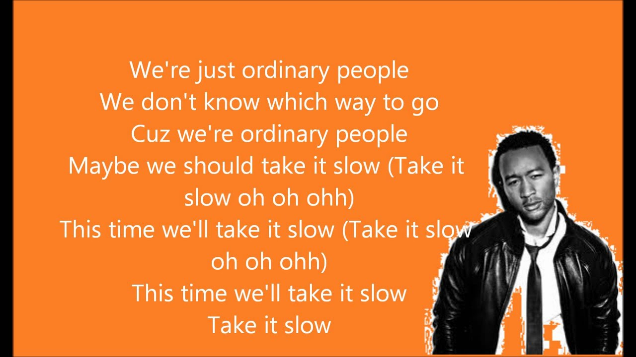 John Legend – Ordinary People Lyrics | Genius Lyrics