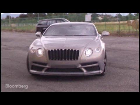 Aston Martin Into a Ferrari