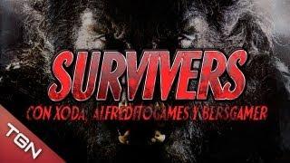 SURVIVERS VIY CON XODA, ALFREDITOGAMES Y BERSGAMER