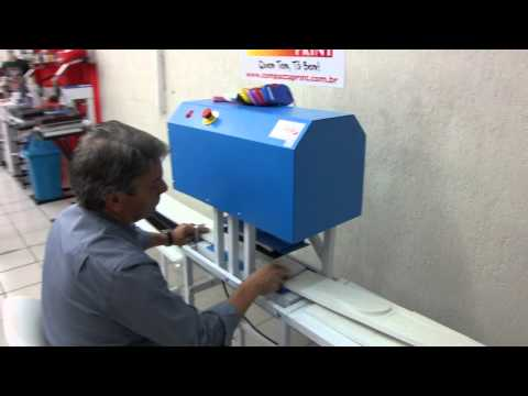 Máquina de Sandália e Chinelo Motorizada - Compacta Print