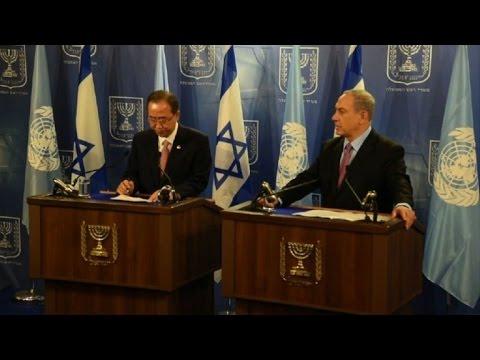 Ban Ki-moon se reúne com premiê israelense