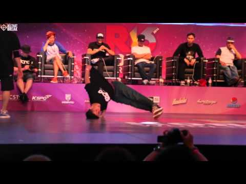 VADOS v LIL ZOO / Quarter Finals / R16 2014 Final Bboy 1 on 1 / Allthatbreak.com