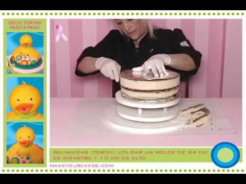 Tutorial de decoraci n de tortas c mo hacer una torta 3d - Decoracion de bebe ...